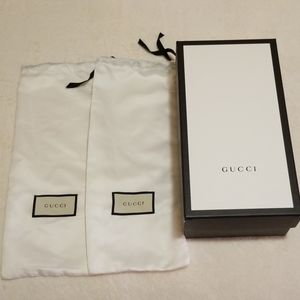 Gucci empty box/dust bags